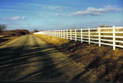 5 Rail Farm Fence
